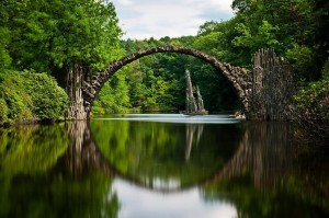 devils bridge, a study in balance